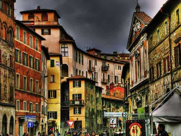 Perugia city between art and entertainment